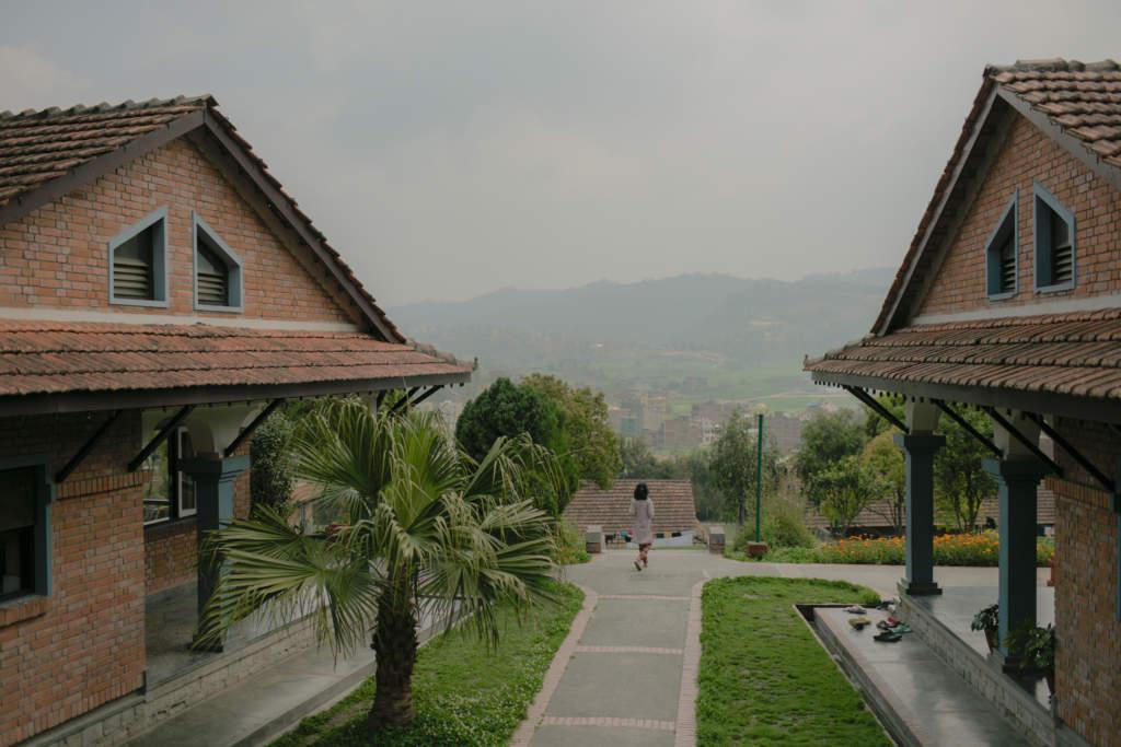 SOS barnby i Kavre har funnits sedan 1997 och är en av tio barnbyar i Nepal. Foto: Martin von Krogh